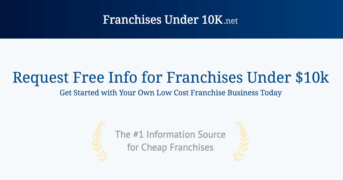 (c) Franchisesunder10k.net